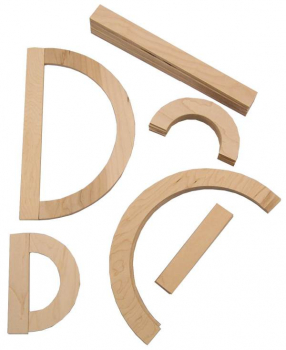 Capital Letter Wood Pieces