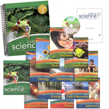 Truth in Science Grade 3 Curriculum Total Pkg
