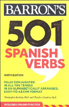 501 Spanish Verbs Eighth Edition with Online Audio