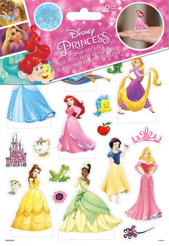 Disney Princess Pop Up Stickers - 2 Sheet