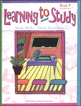 Learning to Study Book F Worktext