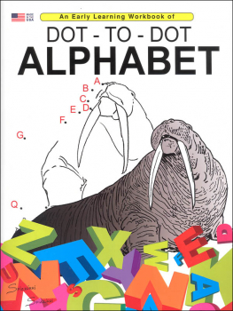 Dot-to-Dot Alphabet (Early Learning Workbook)