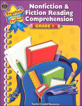 Practice Makes Perfect: Nonfiction & Fiction Reading Comprehension Grade 1