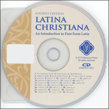 Latina Christiana Pronunciation CD, Fourth Edition