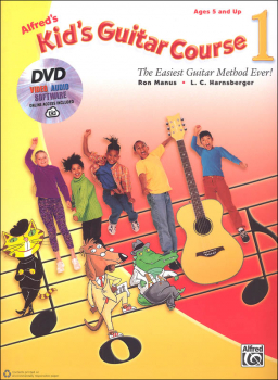 Alfred's Kid's Guitar Course 1 Book w/ DVD and Online Access