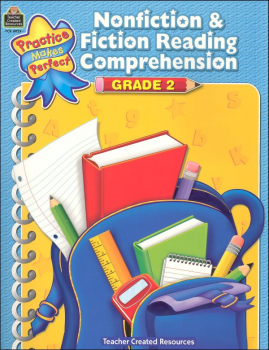 Practice Makes Perfect: Nonfiction & Fiction Reading Comprehension Grade 2