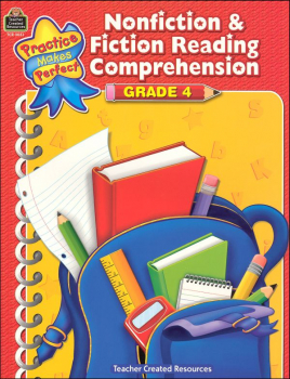 Practice Makes Perfect: Nonfiction & Fiction Reading Comprehension Grade 4