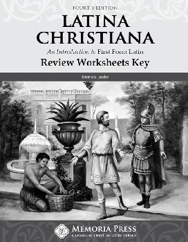 Latina Christiana I Review Worksheets Teacher Key (4th Edition)