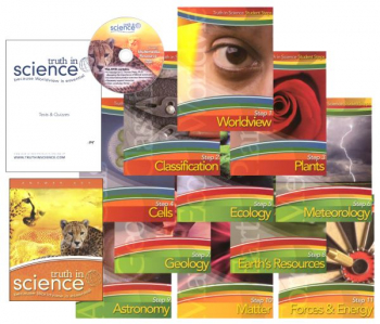 Truth in Science Grade 5 Curriculum Steps Pkg