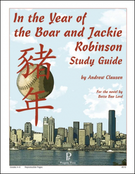 In Year of Boar and Jackie Robinson Study Gde