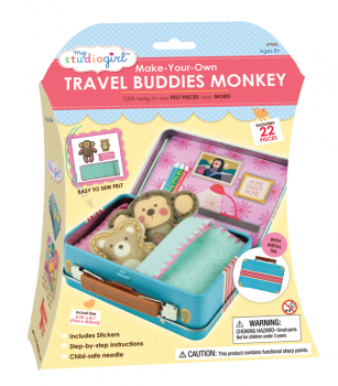 Make-Your-Own Travel Buddies - Monkey