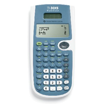Multiview TI-30XS Scientific Calculator