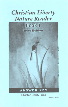 Nature Reader Book 1 Answer Key Third Edition