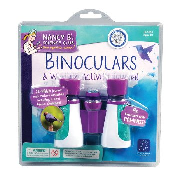 Binoculars and Wildlife Activity Journal (Nancy B's Science Club)