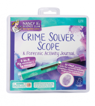 Crime Solver Scope and Forensic Activity Journal (Nancy B's Science Club)