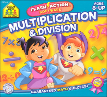 Flash Action Software Multiplication/Division
