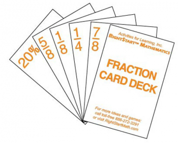 Fraction Card Deck