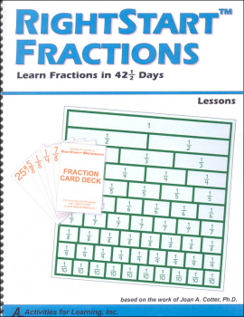 Fraction Lesson Book Only
