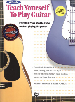 Teach Yourself to Play Guitar Book w/ Online Access