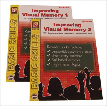 Improving Visual Memory 2-Book Set