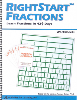 Fraction Worksheet Book Only