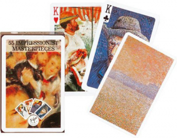 Impressionist Masterpieces Playing Cards