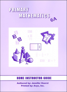 Primary Math US 6A Home Instructor Guide