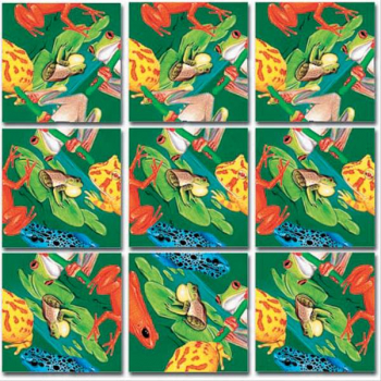Frogs Scramble Squares