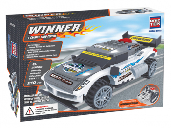 Radio Controlled Racing Car T-MAXX (210 Pieces)