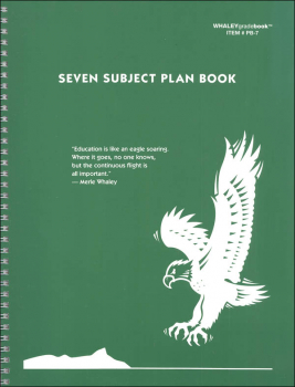 Seven-Subject Plan Book