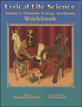 Lyrical Life Science Volume 2 Workbook only