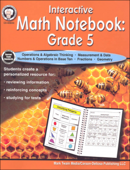 Interactive Math Notebook: Grade 5