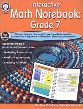 Interactive Math Notebook: Grade 7