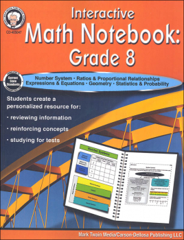 Interactive Math Notebook: Grade 8