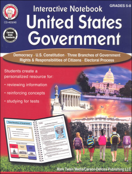 Interactive Notebook: United States Government Resource Book