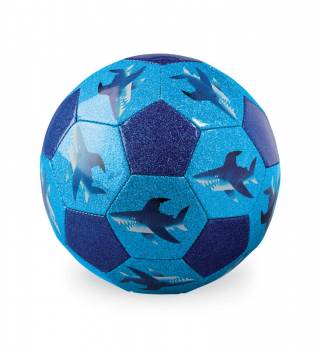 Glitter Soccer Ball - Shark City (size 3)