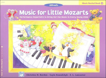 Music for Little Mozarts Music Recital Book 4