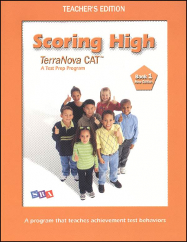 Scoring High CAT6/Terra Nova Book 1 Teacher