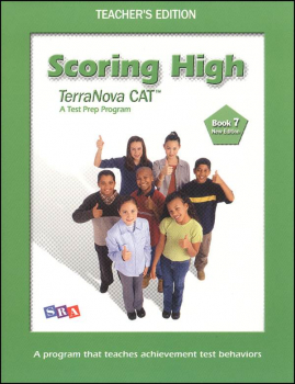 Scoring High CAT6/Terra Nova Book 7 Teacher