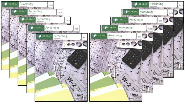 Accounting Lifepacs (Set of 10) Only