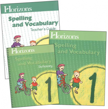 Horizons Spelling & Vocabulary 1 Complete