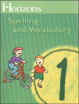 Horizons Spelling & Vocabulary 1 Student Book