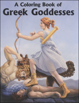 Coloring Book of Greek Goddesses