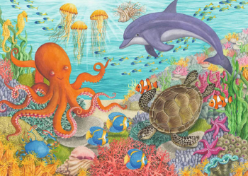 Ocean Friends Puzzle (35 pieces)