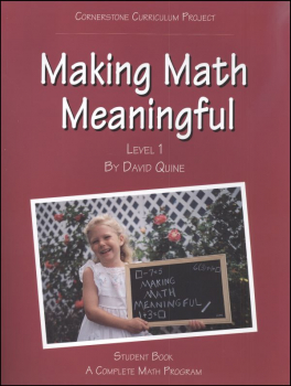 Making Math Meaningful 1 Student Workbook