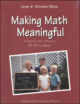Making Math Meaningful 4 Student Workbook