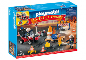 "Advent Calendar ""Construction Site Fire Rescue"""