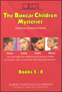 Boxcar Children Mysteries Boxed Set #5-#8