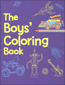 Boys' Coloring Book