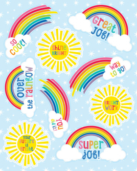 Hello Sunshine Motivational Stickers